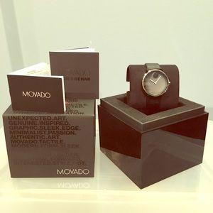 ⚫️NWT Movado edge Watch